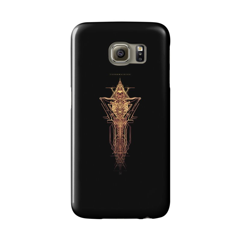 TEKNOBLIVION II - Golden Edition Accessories Phone Case by HEXAD - Art and Apparel