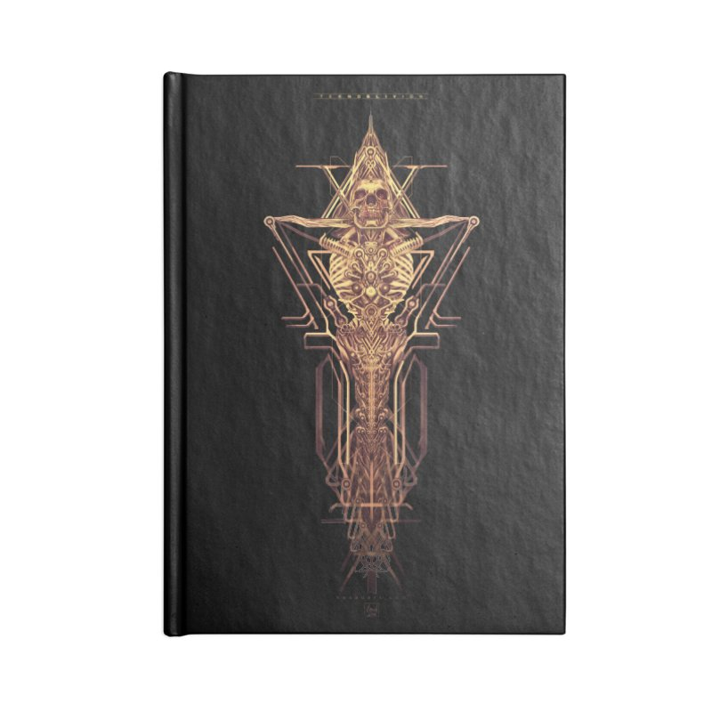 TEKNOBLIVION II - Golden Edition Accessories Notebook by HEXAD - Art and Apparel