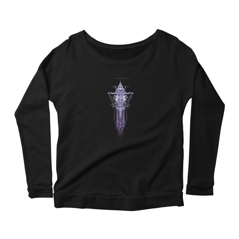 TEKNOBLIVION II - Diamond Edition Women's Longsleeve T-Shirt by HEXAD - Art and Apparel
