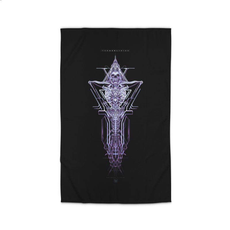 TEKNOBLIVION II - Diamond Edition Home Rug by HEXAD - Art and Apparel