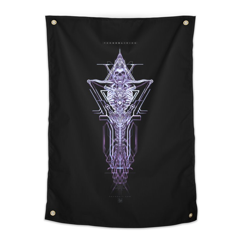 TEKNOBLIVION II - Diamond Edition Home Tapestry by HEXAD - Art and Apparel