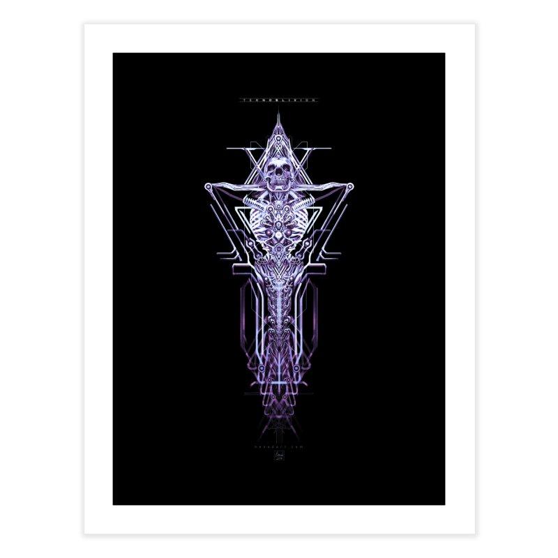 TEKNOBLIVION II - Diamond Edition Home Fine Art Print by HEXAD - Art and Apparel