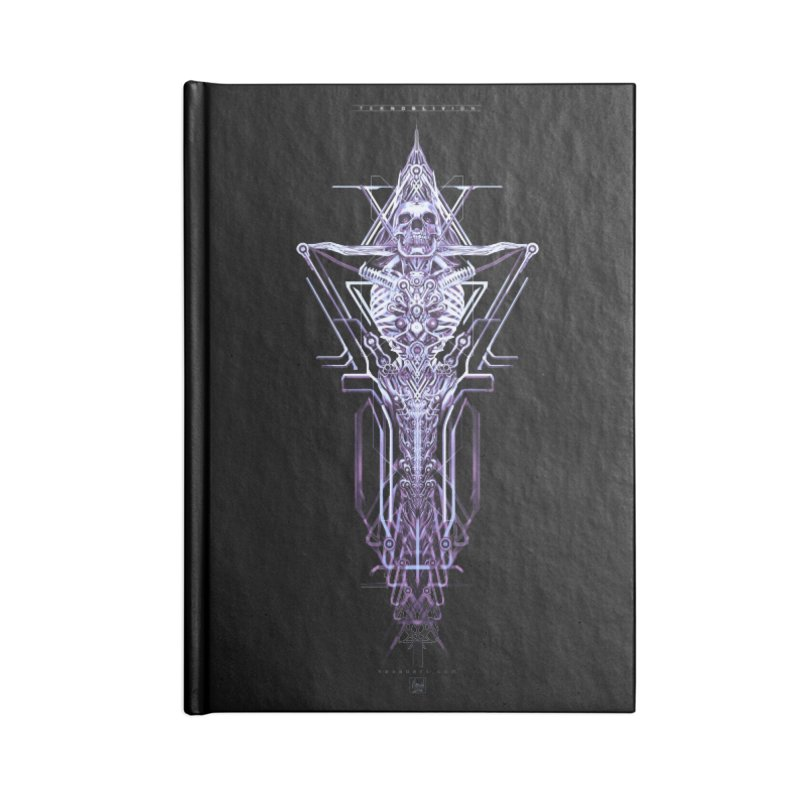 TEKNOBLIVION II - Diamond Edition Accessories Notebook by HEXAD - Art and Apparel