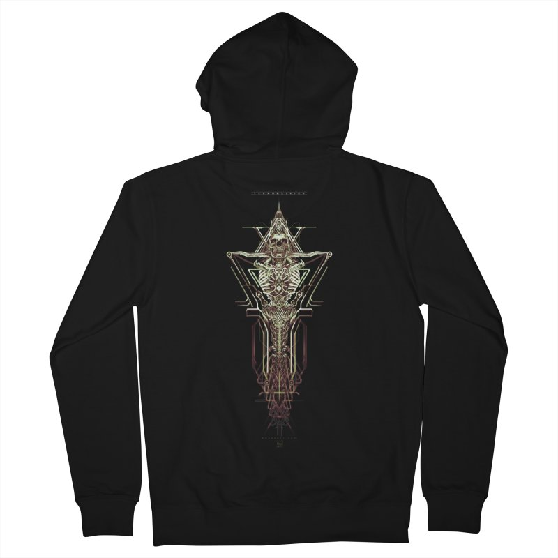 TEKNOBLIVION II - Wasteland Edition Men's Zip-Up Hoody by HEXAD - Art and Apparel