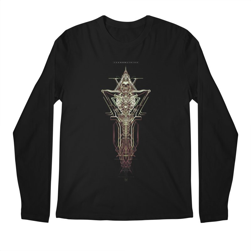 TEKNOBLIVION II - Wasteland Edition Men's Regular Longsleeve T-Shirt by HEXAD - Art and Apparel