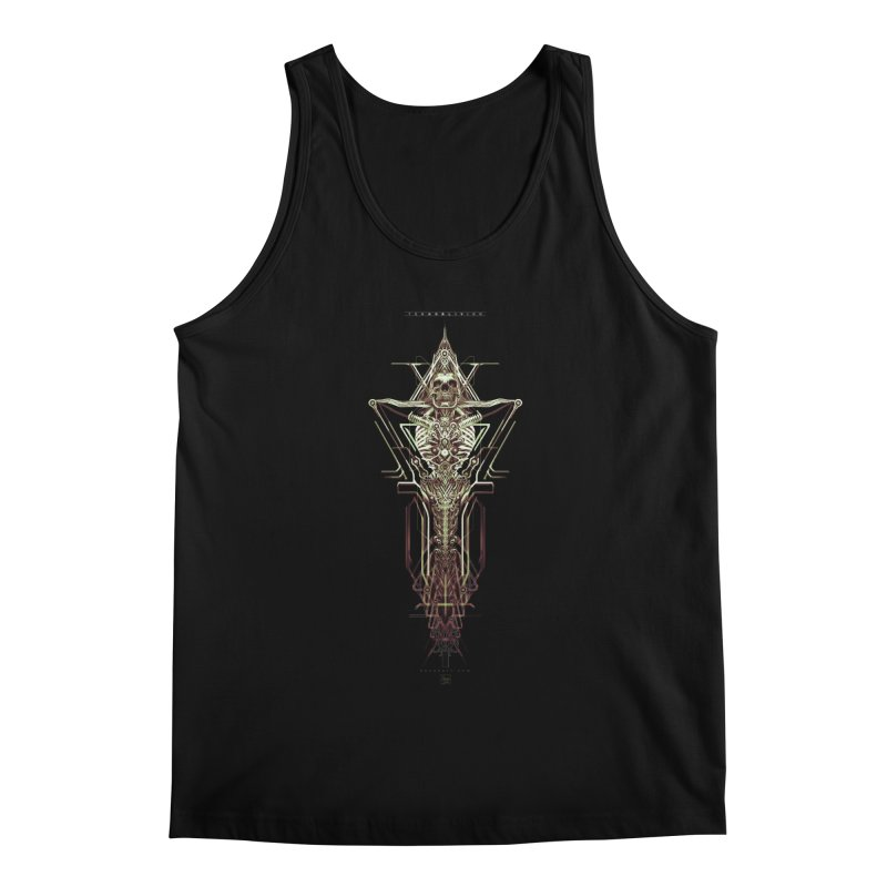 TEKNOBLIVION II - Wasteland Edition Men's Regular Tank by HEXAD - Art and Apparel