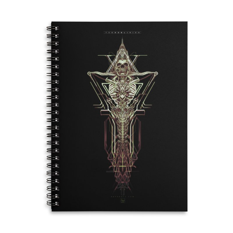 TEKNOBLIVION II - Wasteland Edition Accessories Lined Spiral Notebook by HEXAD - Art and Apparel