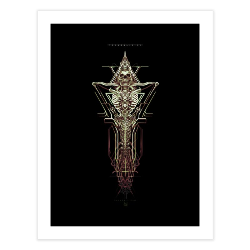 TEKNOBLIVION II - Wasteland Edition Home Fine Art Print by HEXAD - Art and Apparel
