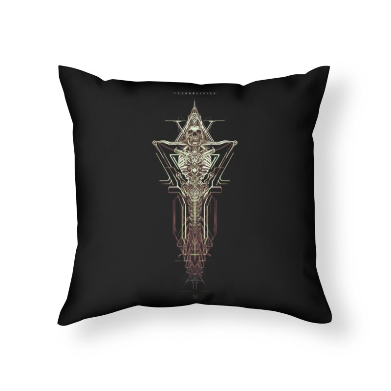 TEKNOBLIVION II - Wasteland Edition Home Throw Pillow by HEXAD - Art and Apparel
