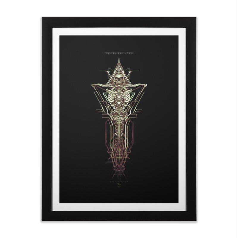 TEKNOBLIVION II - Wasteland Edition Home Framed Fine Art Print by HEXAD - Art and Apparel