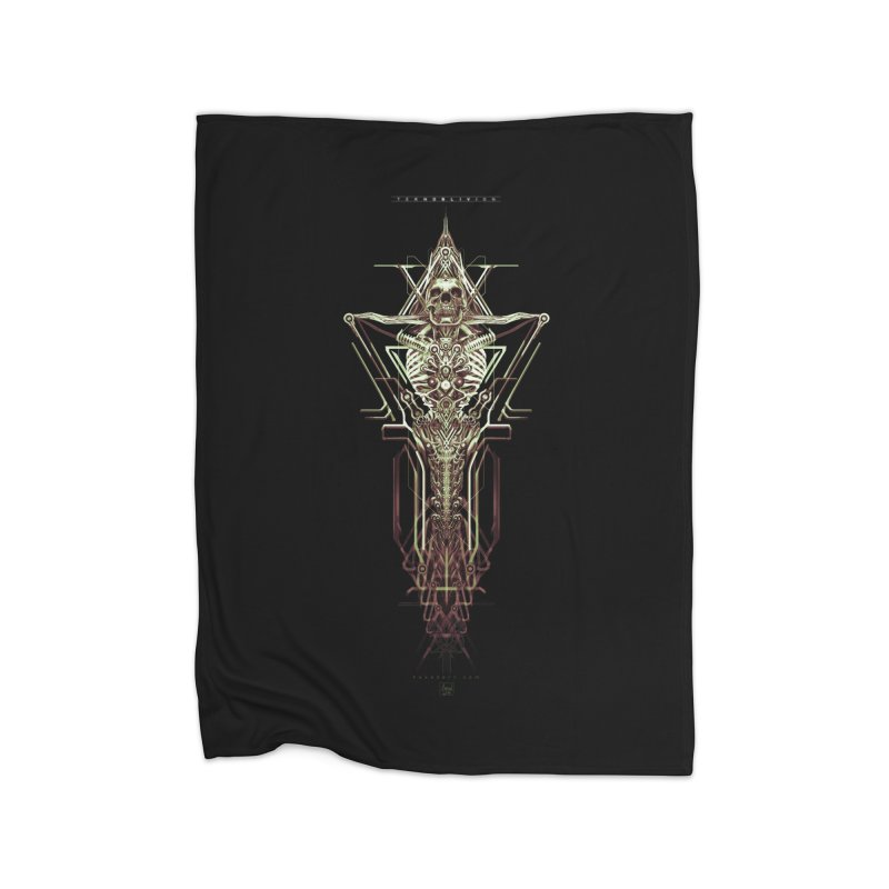 TEKNOBLIVION II - Wasteland Edition Home Blanket by HEXAD - Art and Apparel