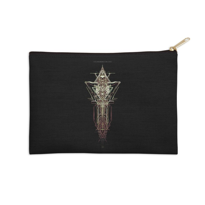 TEKNOBLIVION II - Wasteland Edition Accessories Zip Pouch by HEXAD - Art and Apparel