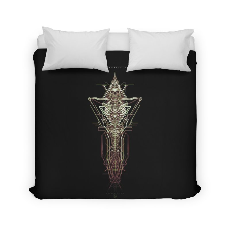 TEKNOBLIVION II - Wasteland Edition Home Duvet by HEXAD - Art and Apparel
