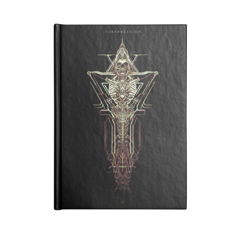 TEKNOBLIVION II - Wasteland Edition Accessories Lined Journal Notebook by HEXAD - Art and Apparel