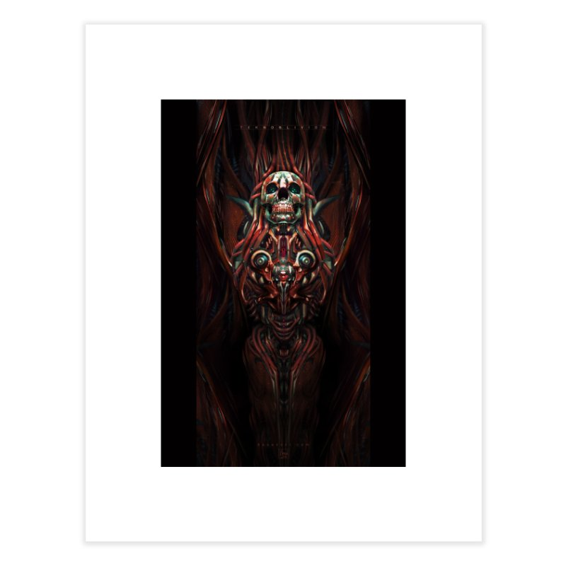 TEKNOBLIVION III - Hotrod Edition Home Fine Art Print by HEXAD - Art and Apparel