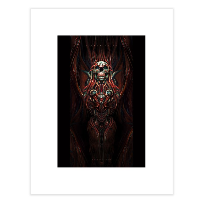 TEKNOBLIVION III - Hotrod Edition Home Fine Art Print by HEXAD - Art and Apparel