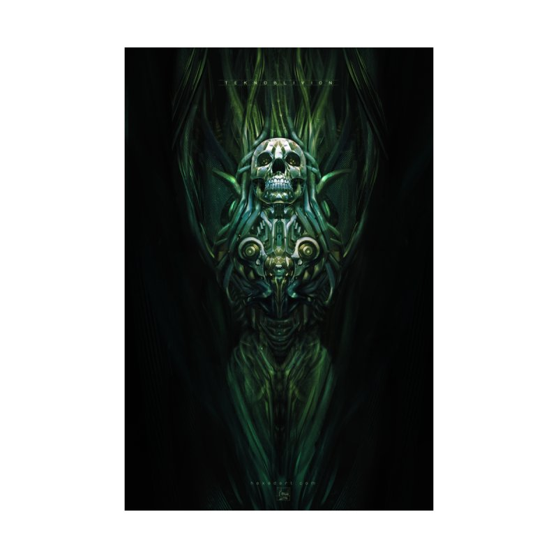 TEKNOBLIVION III - Jungle Edition Home Framed Fine Art Print by HEXAD - Art and Apparel