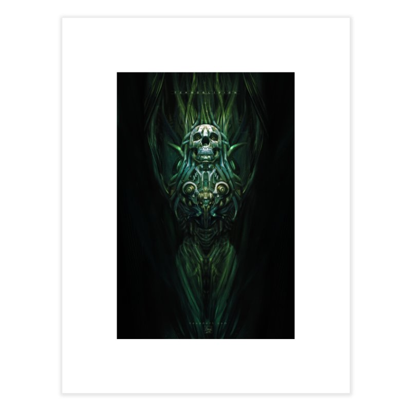 TEKNOBLIVION III - Jungle Edition Home Fine Art Print by HEXAD - Art and Apparel