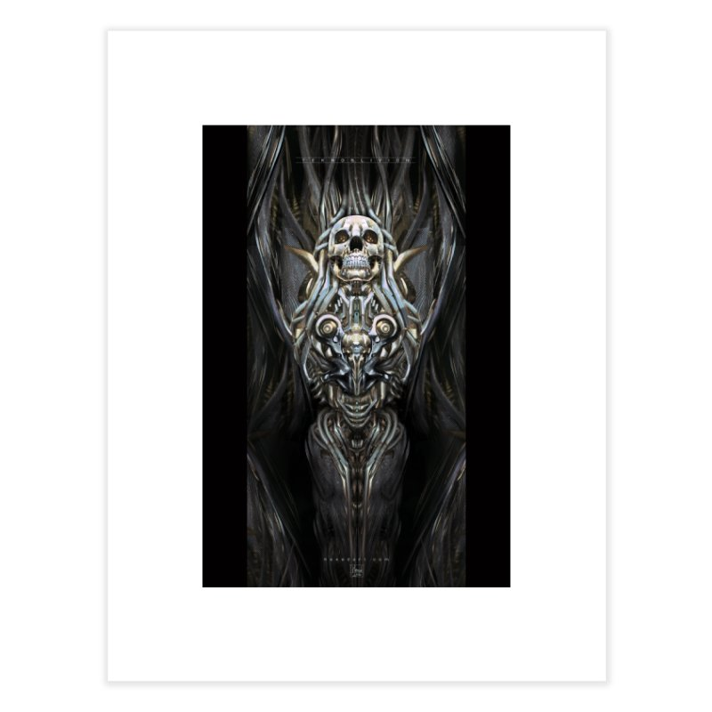 TEKNOBLIVION III - Psyko Edition Home Fine Art Print by HEXAD - Art and Apparel