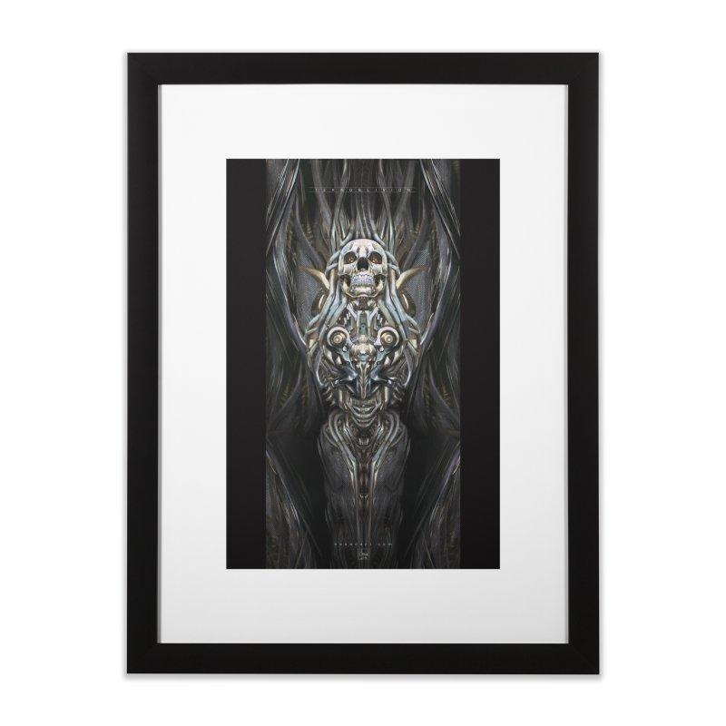TEKNOBLIVION III - Psyko Edition Home Framed Fine Art Print by HEXAD - Art and Apparel