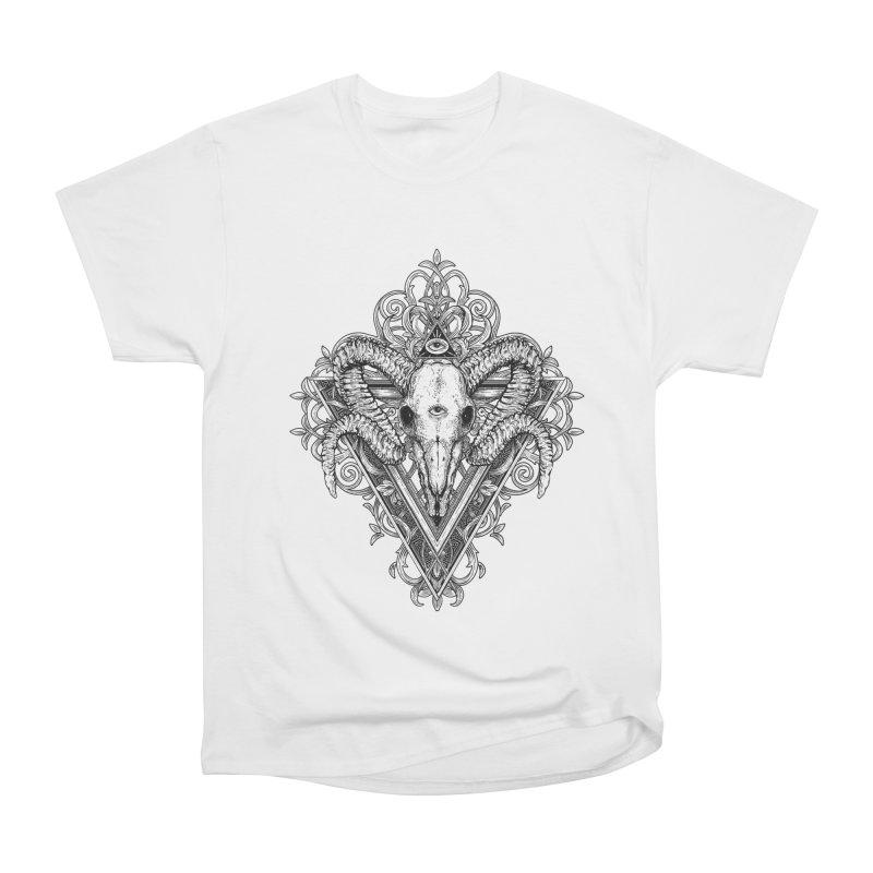 Ram Skull One Women's T-Shirt by HEXAD - Art and Apparel