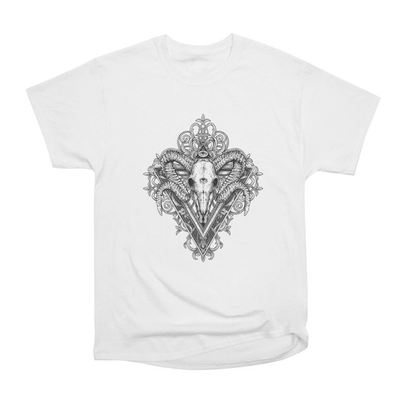 Ram Skull One Men's T-Shirt by HEXAD - Art and Apparel