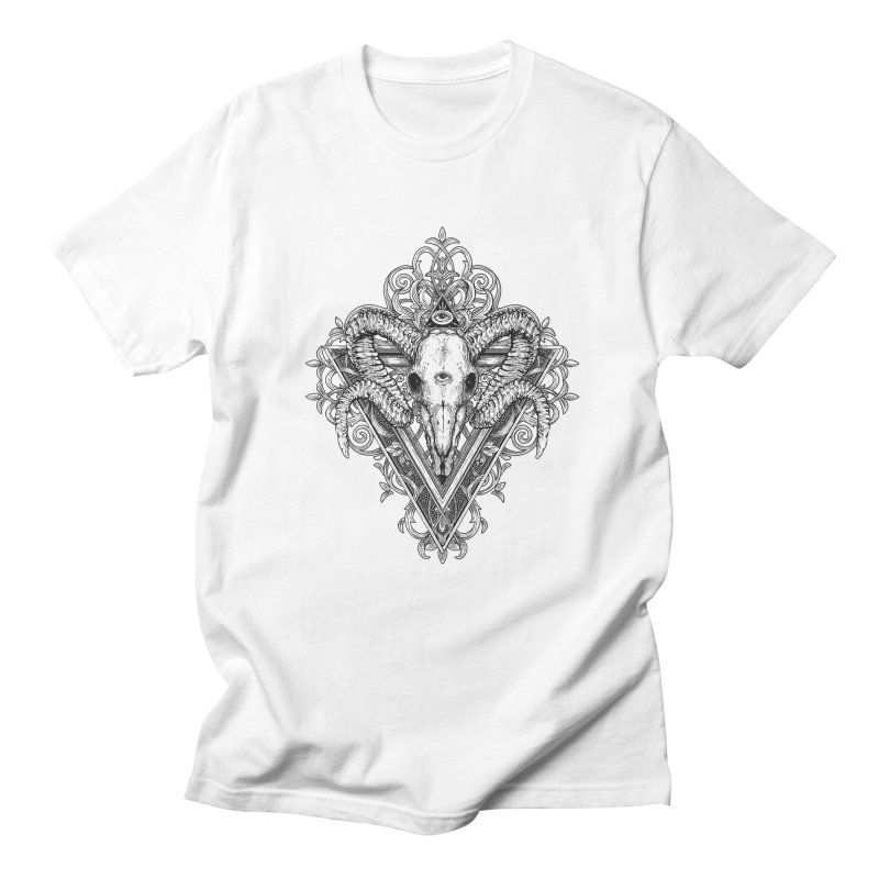 Ram Skull One Women's T-Shirt by HEXAD - Art and Apparel