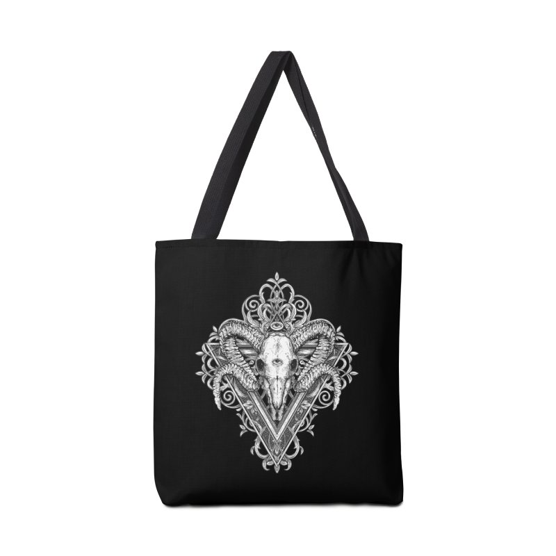 Ram Skull One Accessories Bag by HEXAD - Art and Apparel