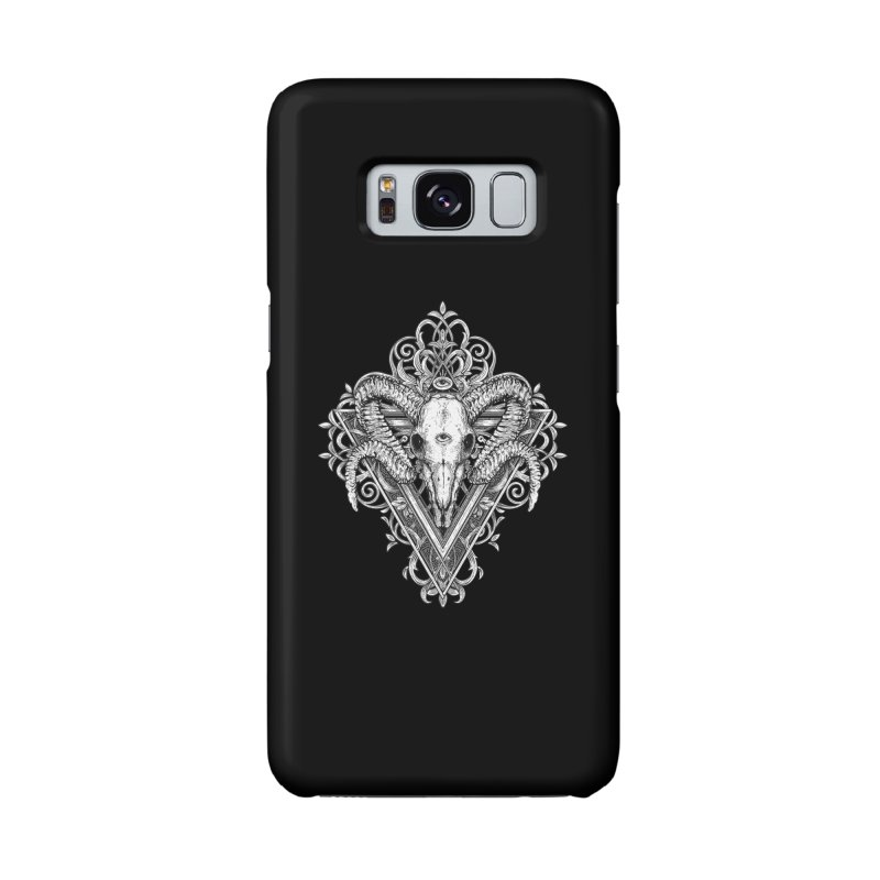 Ram Skull One Accessories Phone Case by HEXAD - Art and Apparel