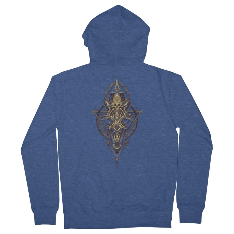 SYMBOLIC Bleu Edition Women's Zip-Up Hoody by HEXAD - Art and Apparel