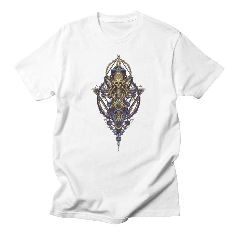 SYMBOLIC Bleu Edition Men's T-Shirt by HEXAD - Art and Apparel