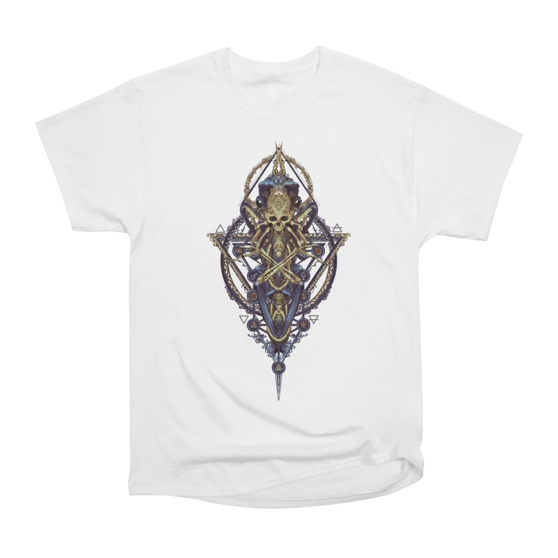 SYMBOLIC Bleu Edition Men's Heavyweight T-Shirt by HEXAD - Art and Apparel