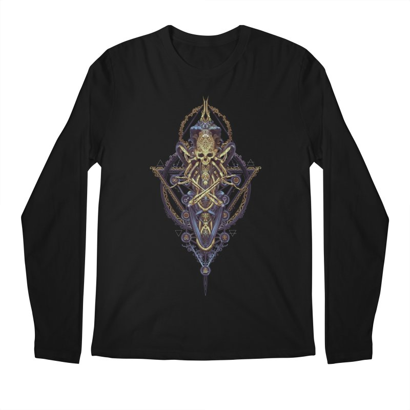 SYMBOLIC Bleu Edition Men's Longsleeve T-Shirt by HEXAD - Art and Apparel
