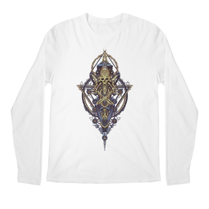 SYMBOLIC Bleu Edition Men's Regular Longsleeve T-Shirt by HEXAD - Art and Apparel