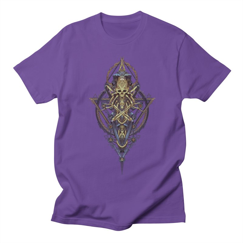 SYMBOLIC Bleu Edition Women's Unisex T-Shirt by HEXAD - Art and Apparel