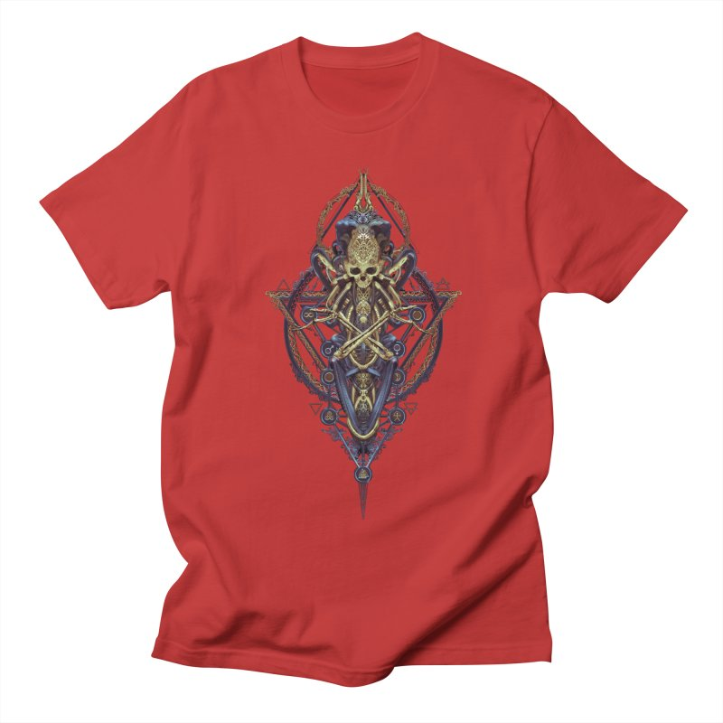 SYMBOLIC Bleu Edition Men's Regular T-Shirt by HEXAD - Art and Apparel