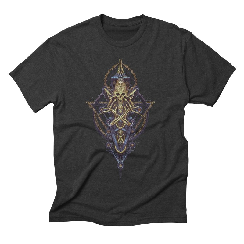 SYMBOLIC Bleu Edition Men's Triblend T-Shirt by HEXAD - Art and Apparel