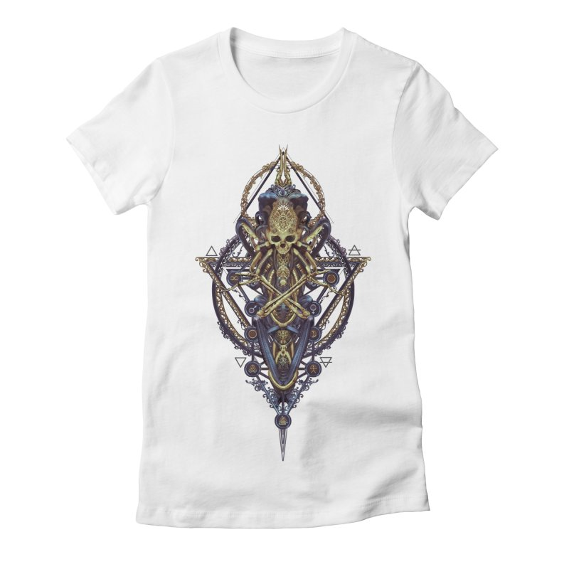 SYMBOLIC Bleu Edition Women's T-Shirt by HEXAD - Art and Apparel