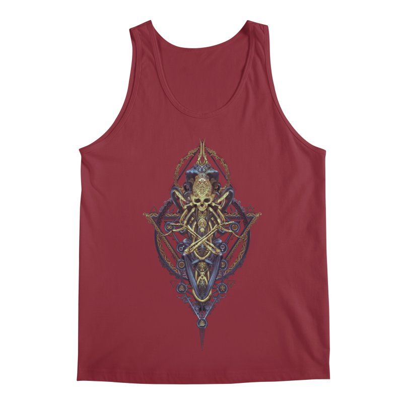 SYMBOLIC Bleu Edition Men's Tank by HEXAD - Art and Apparel