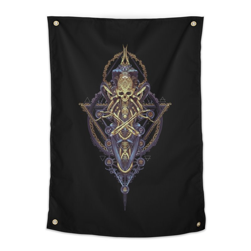 SYMBOLIC Bleu Edition Home Tapestry by HEXAD - Art and Apparel
