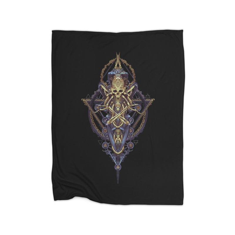 SYMBOLIC Bleu Edition Home Blanket by HEXAD - Art and Apparel