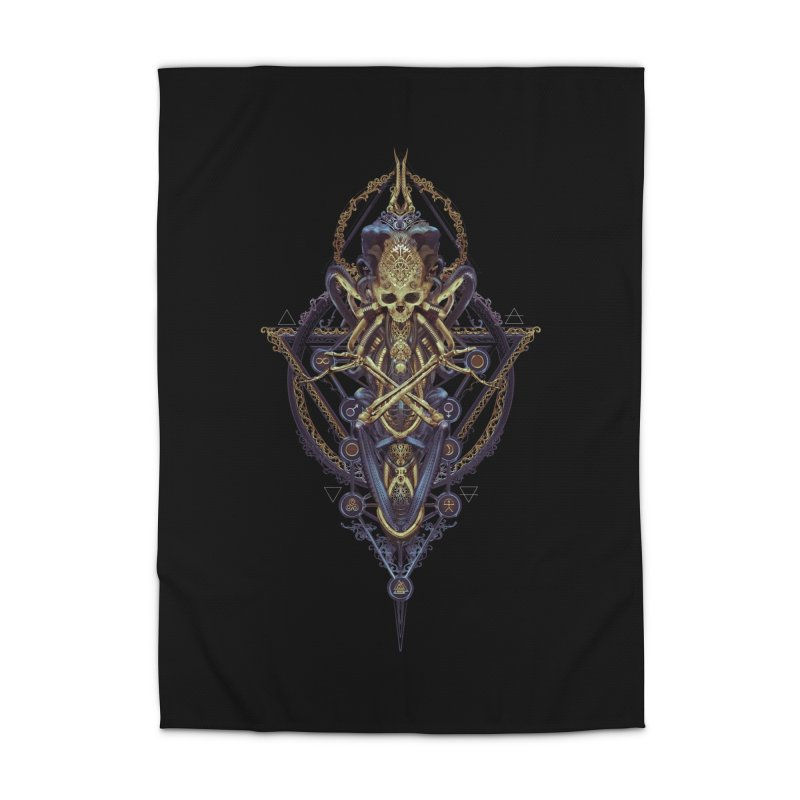 SYMBOLIC Bleu Edition Home Rug by HEXAD - Art and Apparel
