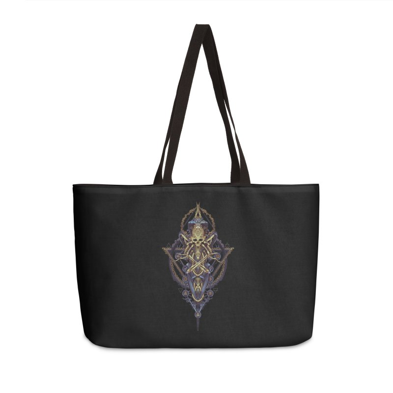 SYMBOLIC Bleu Edition Accessories Weekender Bag Bag by HEXAD - Art and Apparel