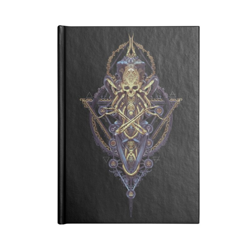 SYMBOLIC Bleu Edition Accessories Lined Journal Notebook by HEXAD - Art and Apparel