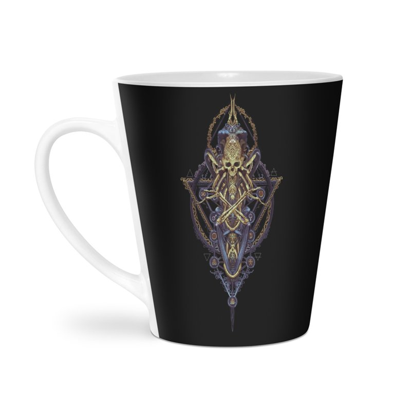 SYMBOLIC Bleu Edition Accessories Latte Mug by HEXAD - Art and Apparel