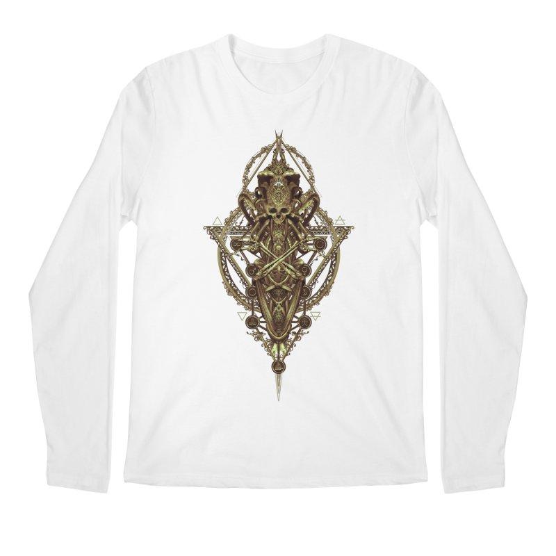 SYMBOLIC - Gold Edition Men's Regular Longsleeve T-Shirt by HEXAD - Art and Apparel