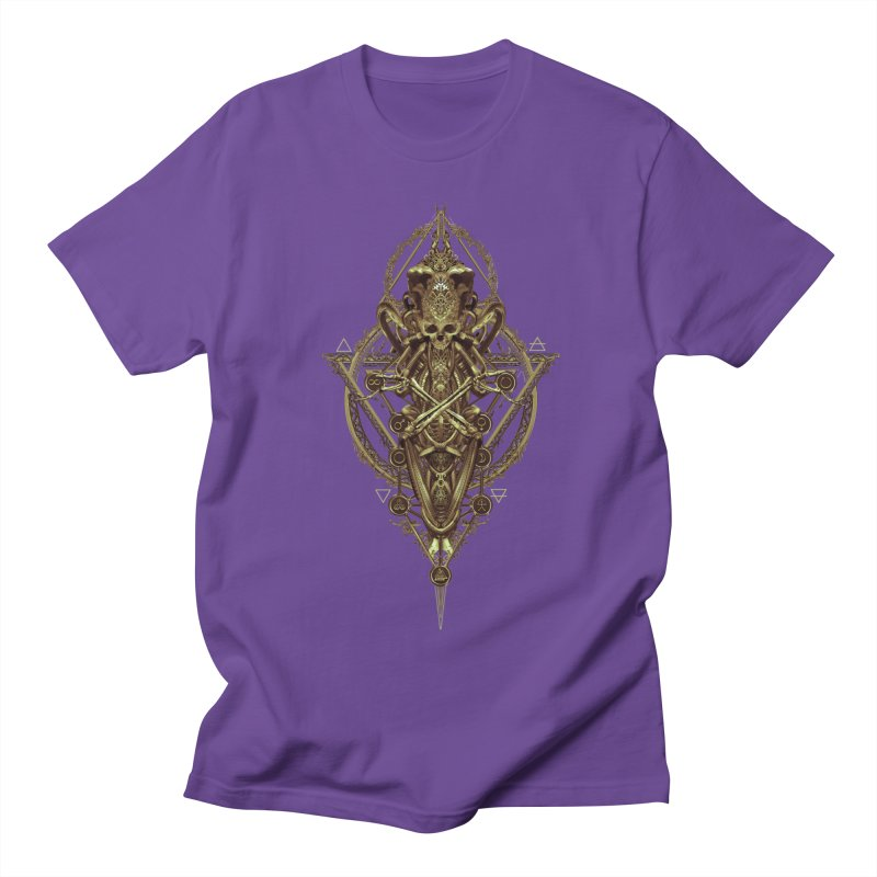 SYMBOLIC - Gold Edition Men's Regular T-Shirt by HEXAD - Art and Apparel