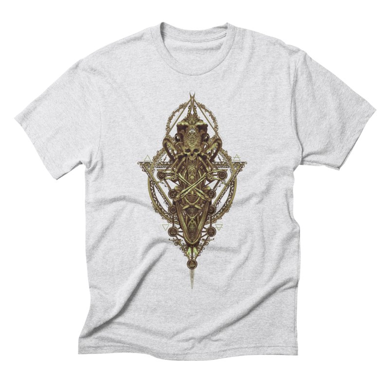 SYMBOLIC - Gold Edition Men's Triblend T-Shirt by HEXAD - Art and Apparel