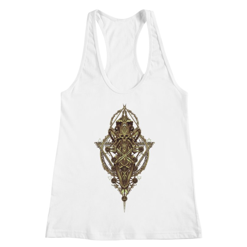 SYMBOLIC - Gold Edition Women's Tank by HEXAD - Art and Apparel