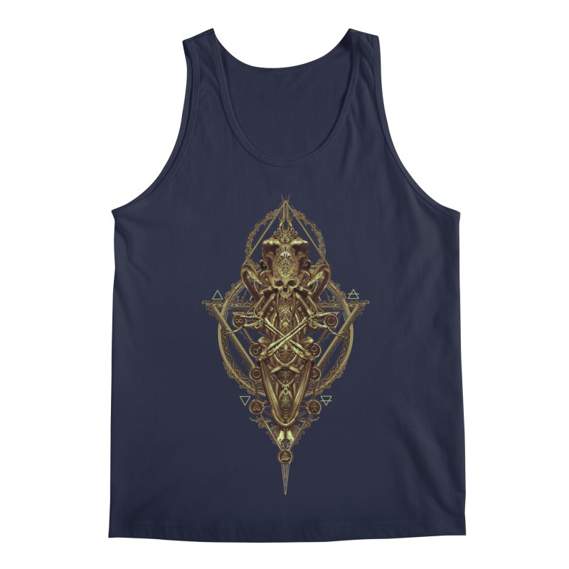 SYMBOLIC - Gold Edition Men's Regular Tank by HEXAD - Art and Apparel